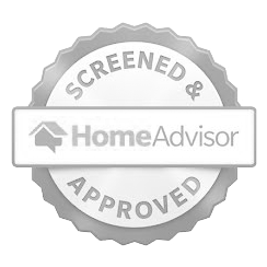 Screened & Approved HomeAdvisor Seal